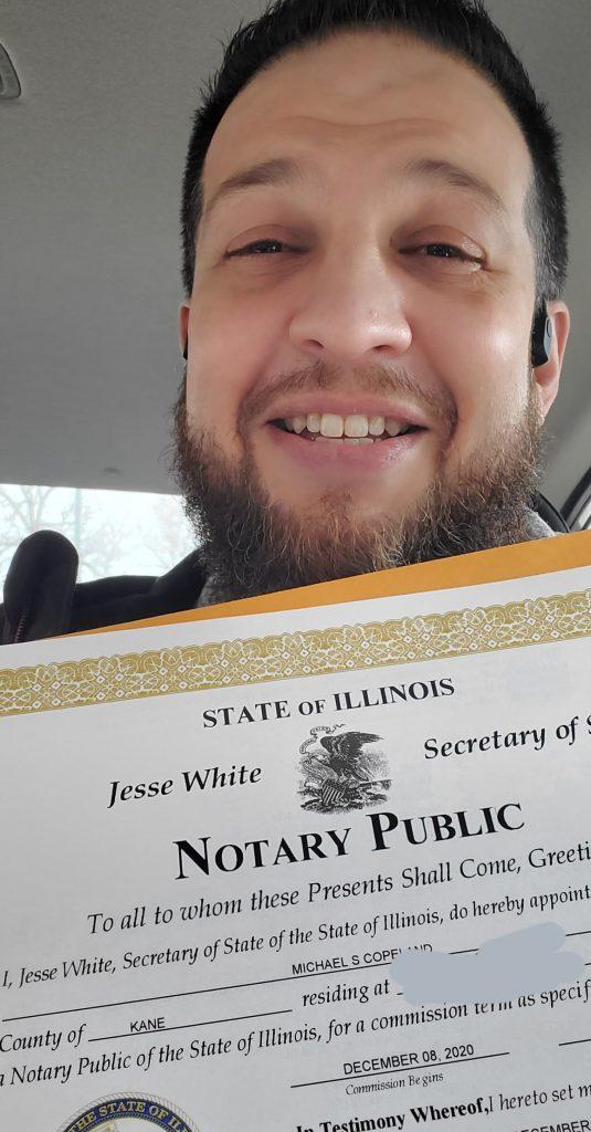Notario Público Chicagoland - Elgin Area Notary